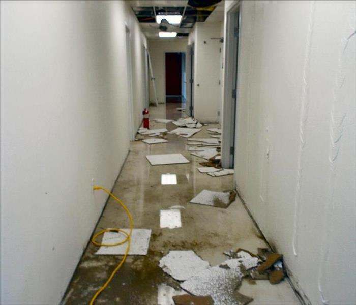 Commercial Property Damage Cleaning Before