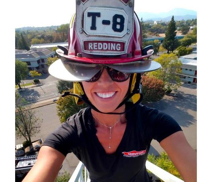 Amanda Foley with Redding First Responders