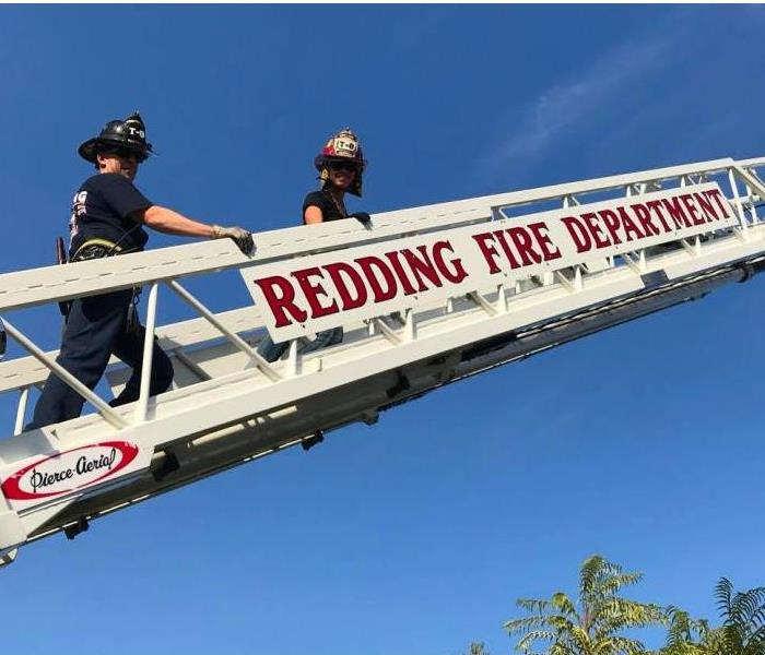On Top of the World with Redding Fire