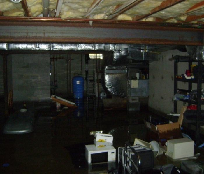 Flooded Basement In Commercial Property: SERVPRO Of North Shasta, Trinity & Greater Tehama Counties Gallery Photos