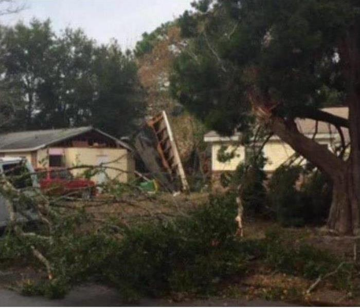Storm Damage SERVPRO Storm Restoration Services in Northern California, Shasta County and Redding
