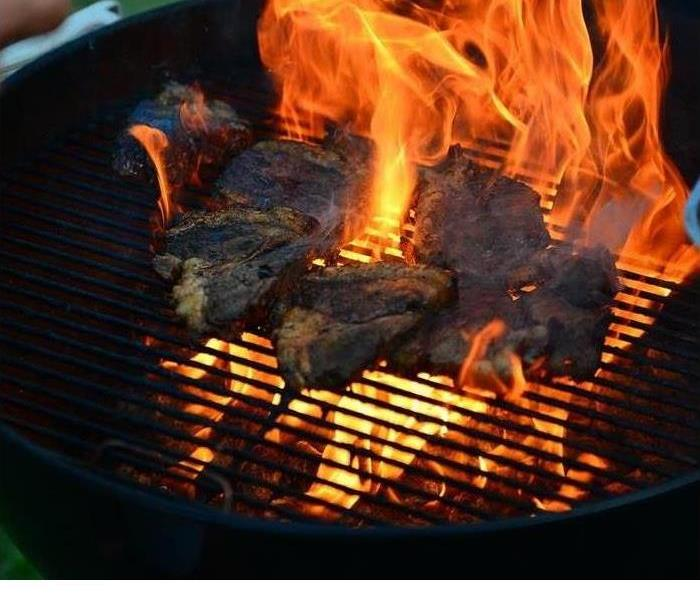 Fire Damage Tips for Safe Summer Grill Cleaning