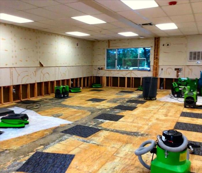 Commercial Commercial Water and Fire Damage Drying, Repair and Odor Removal