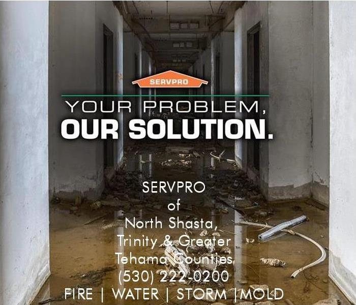 Commercial Commercial Business Loss – Water, Fire and Mold Damage – Call SERVPRO® – 530-222-0200