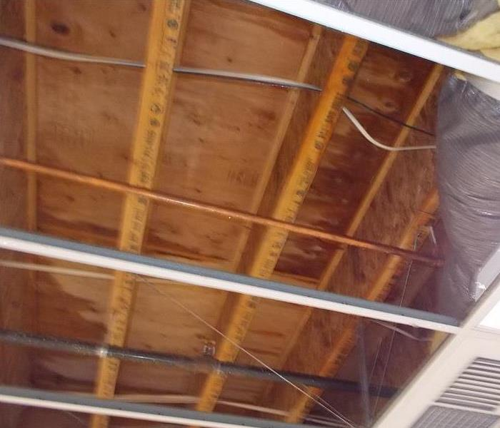 Water Damage Leaky Roof Causes Major Damage